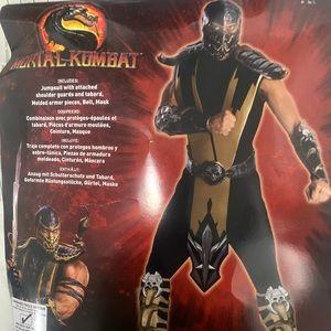 Scorpion costume (men one size)